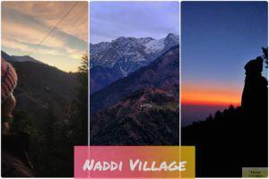 Naddi Village in Dhauladhar