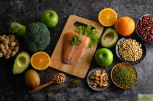 Here are some protein-containing fruits and vegetables