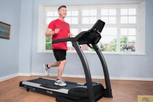Progressive treadmill training
