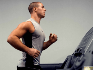 Treadmill training with interval slopes