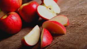 Apples are low in calories and rich in fiber